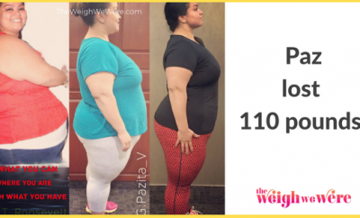 110 Pounds Lost: I did it for ME
