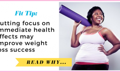 Putting focus on immediate health effects may improve weight loss success| via TheWeighWeWere.com