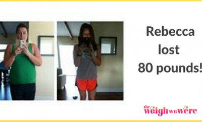 80 Pounds Lost: Fat to Fit Mom