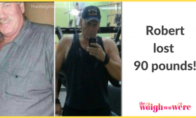 Robert Lost 90 pounds