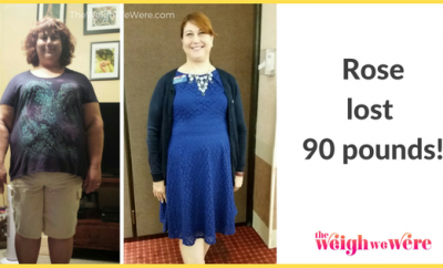 90 Pounds Lost: A Shrinking Rose