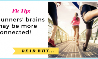 Runners' brains may be more connected, research shows| via TheWeighWeWere.com