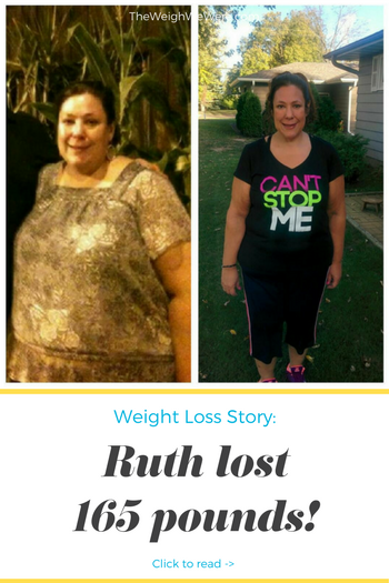 Ruth Lost 165 Pounds