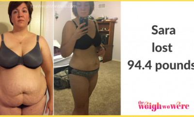 94.4 Pounds Lost: Running to be Stunning