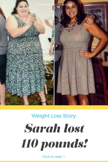 Great success story! Read before and after fitness transformation stories from women and men who hit weight loss goals and got THAT BODY with training and meal prep. Find inspiration, motivation, and workout tips | 110 Pounds Lost:  Its a New Era of Sarah!
