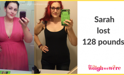 Sarah Lost 128 Pounds