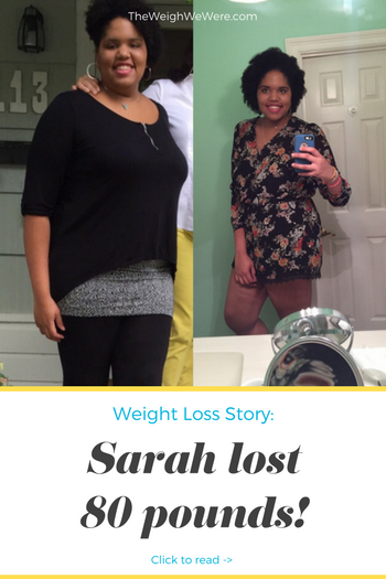 80 Pounds Lost: My weight loss journey - The Weigh We Were