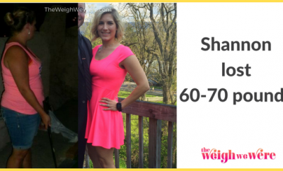 Shannon Lost 70 Pounds