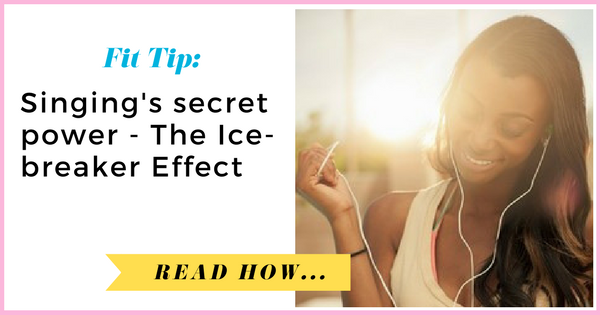 Great success story! Read before and after fitness transformation stories from women and men who hit weight loss goals and got THAT BODY with training and meal prep. Find inspiration, motivation, and workout tips | Singings secret power: The Ice breaker Effect
