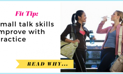 Small talk skills improve with practice| via TheWeighWeWere.com