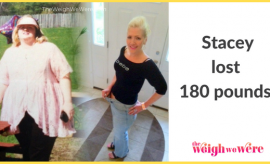 Stacey Lost 180 Pounds