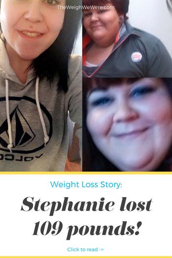 Stephanie Lost 109 Pounds