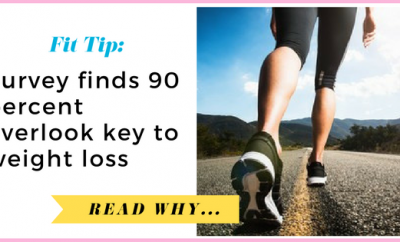 Survey finds 90 percent overlook key to weight lossSurvey finds 90 percent overlook key to weight loss| via TheWeighWeWere.com