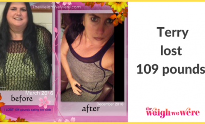 109 Pounds Lost: Colon cancer stage 4  did not kill me ..Why let obesity?