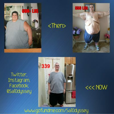Great success story! Read before and after fitness transformation stories from women and men who hit weight loss goals and got THAT BODY with training and meal prep. Find inspiration, motivation, and workout tips | 351 Pound Transformation: The Fight of My Life