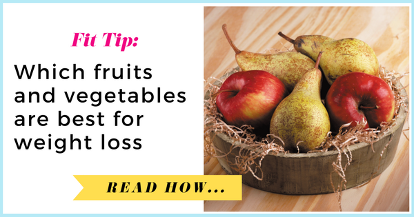 Which fruits and vegetables are best for weight loss?| via TheWeighWeWere.com