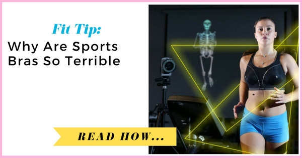 Why Are Sports Bras So Terrible?| via TheWeighWeWere.com