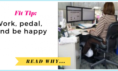 Work, pedal, and be happy| via TheWeighWeWere.com