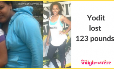 123 Pounds Lost: Stay Committed