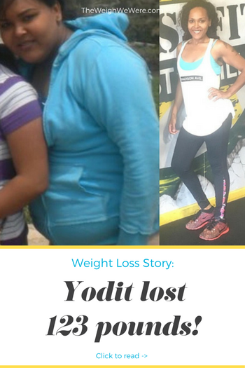 Great success story! Read before and after fitness transformation stories from women and men who hit weight loss goals and got THAT BODY with training and meal prep. Find inspiration, motivation, and workout tips | 123 Pounds Lost: Stay Committed