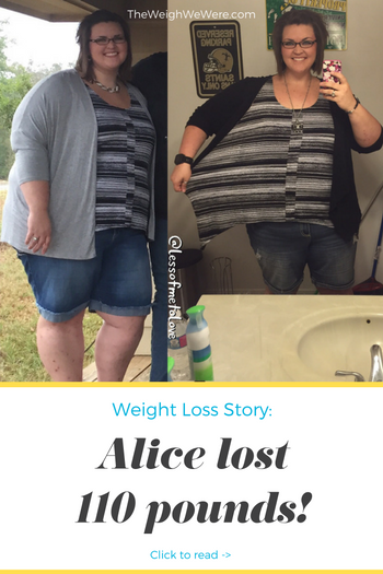 Great success story! Read before and after fitness transformation stories from women and men who hit weight loss goals and got THAT BODY with training and meal prep. Find inspiration, motivation, and workout tips | 110 Pounds Lost: Less of Me to Love