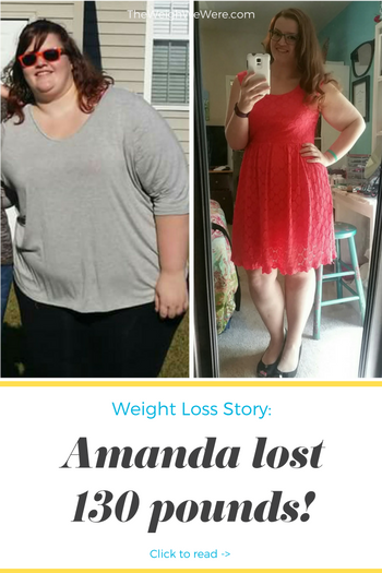 Amanda lost 130 pounds! See my before and after weight loss pictures, and read amazing weight loss success stories from real women and their best weight loss diet plans and programs. Motivation to lose weight with walking and inspiration from before and after weightloss pics and photos.