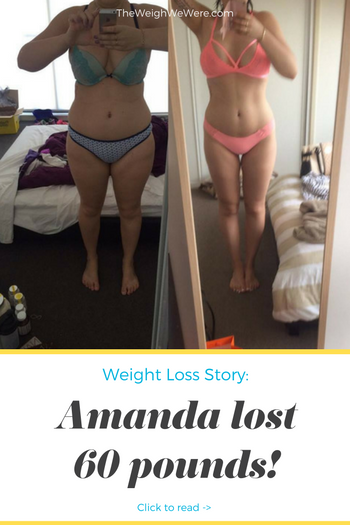 Amanda Lost 60 Pounds