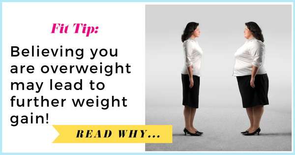 Believing you are overweight may lead to further weight gain| via TheWeighWeWere.com