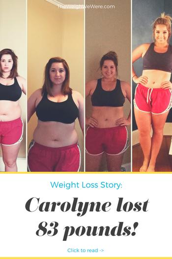 Carolyne Lost 83 Pounds