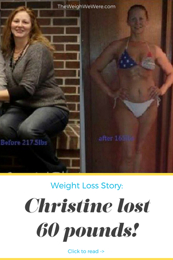 Christine Lost 60 Pounds
