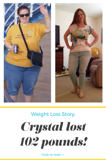 Crystal Lost 102 Pounds