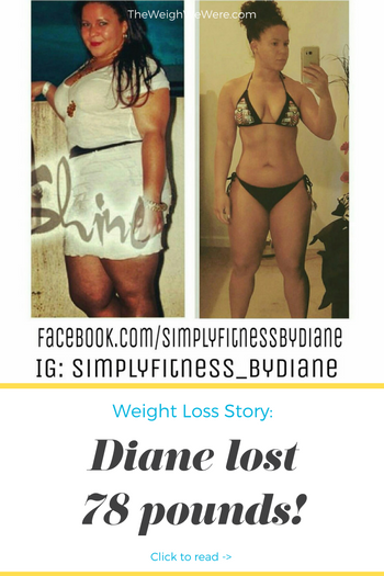 Diane Lost 78 Pounds