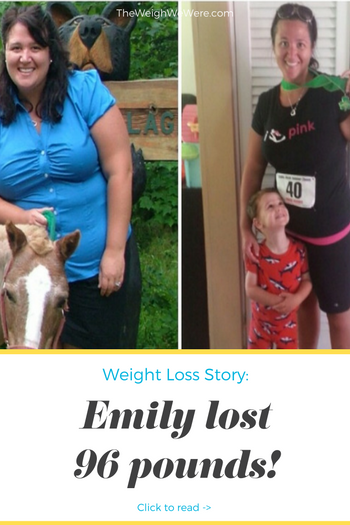 Emily Lost 96 Pounds