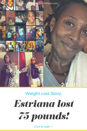 Great success story! Read before and after fitness transformation stories from women and men who hit weight loss goals and got THAT BODY with training and meal prep. Find inspiration, motivation, and workout tips | 75 Pounds Lost: No More Chubby Girl Blues