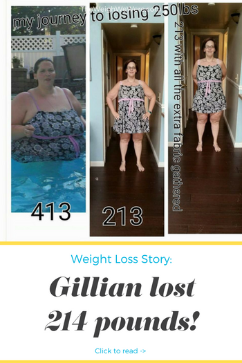 Gillian Lost 214 Pounds