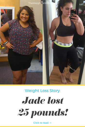 Jade Lost 25 Pounds