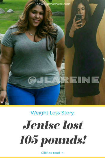 Jenise Lost 93 Pounds