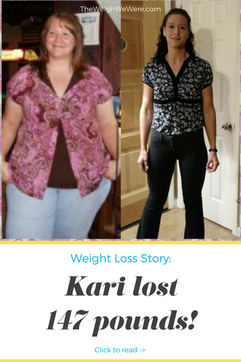 Great success story! Read before and after fitness transformation stories from women and men who hit weight loss goals and got THAT BODY with training and meal prep. Find inspiration, motivation, and workout tips | 147 Pounds Lost:  Becoming 1/2 of me!