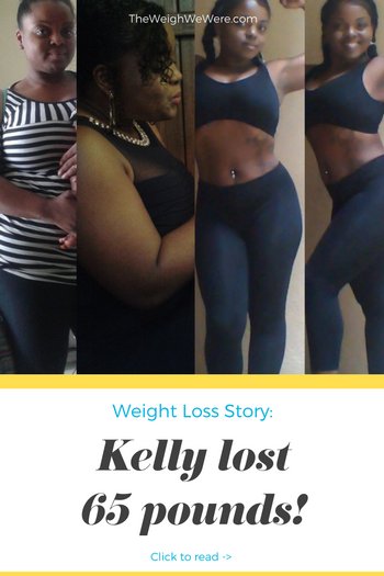 Kelly Lost 65 Pounds