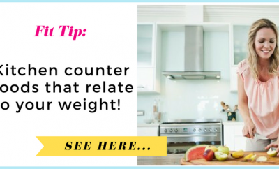 The 20 lb. cereal box: Kitchen counter foods that relate to your weight| via TheWeighWeWere.com