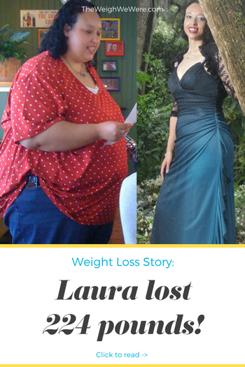 Laura Lost 224 Pounds