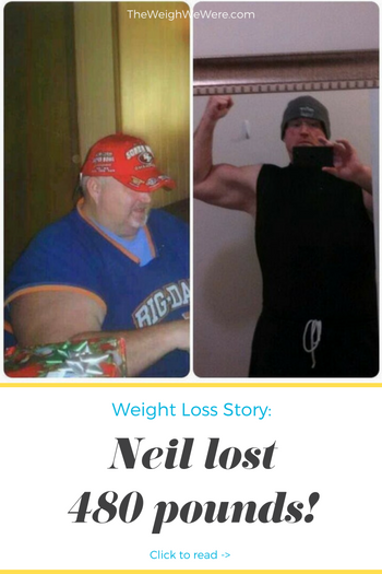 I lost 480 pounds! Read my weight loss success story and see my before and after weight loss pictures at the website The Weigh We Were. Hundreds of success stories, articles and photos of weight loss diet plans for men, tips for how to lose weight for men. Build muscle and lose belly fat with healthy male weight loss transformation pics for inspiration!