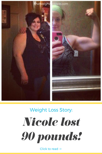 Nicole Lost 90 Pounds