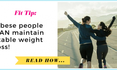 Obese people can maintain stable weight loss| via TheWeighWeWere.com