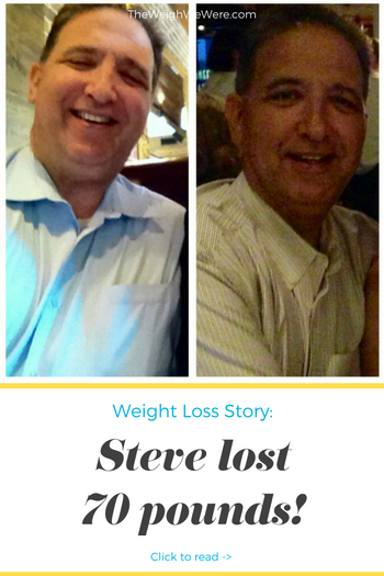 Great success story! Read before and after fitness transformation stories from women and men who hit weight loss goals and got THAT BODY with training and meal prep. Find inspiration, motivation, and workout tips | 70 Pounds Lost: Steves No Diet Lifestyle Change