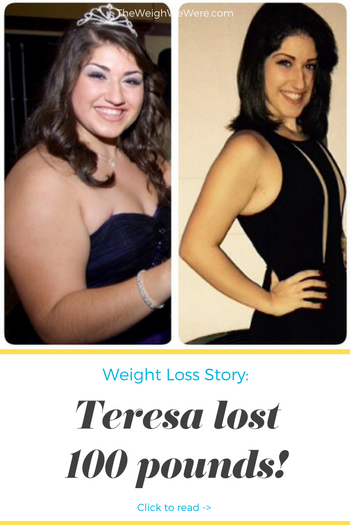 Teresa Lost 100 Pounds