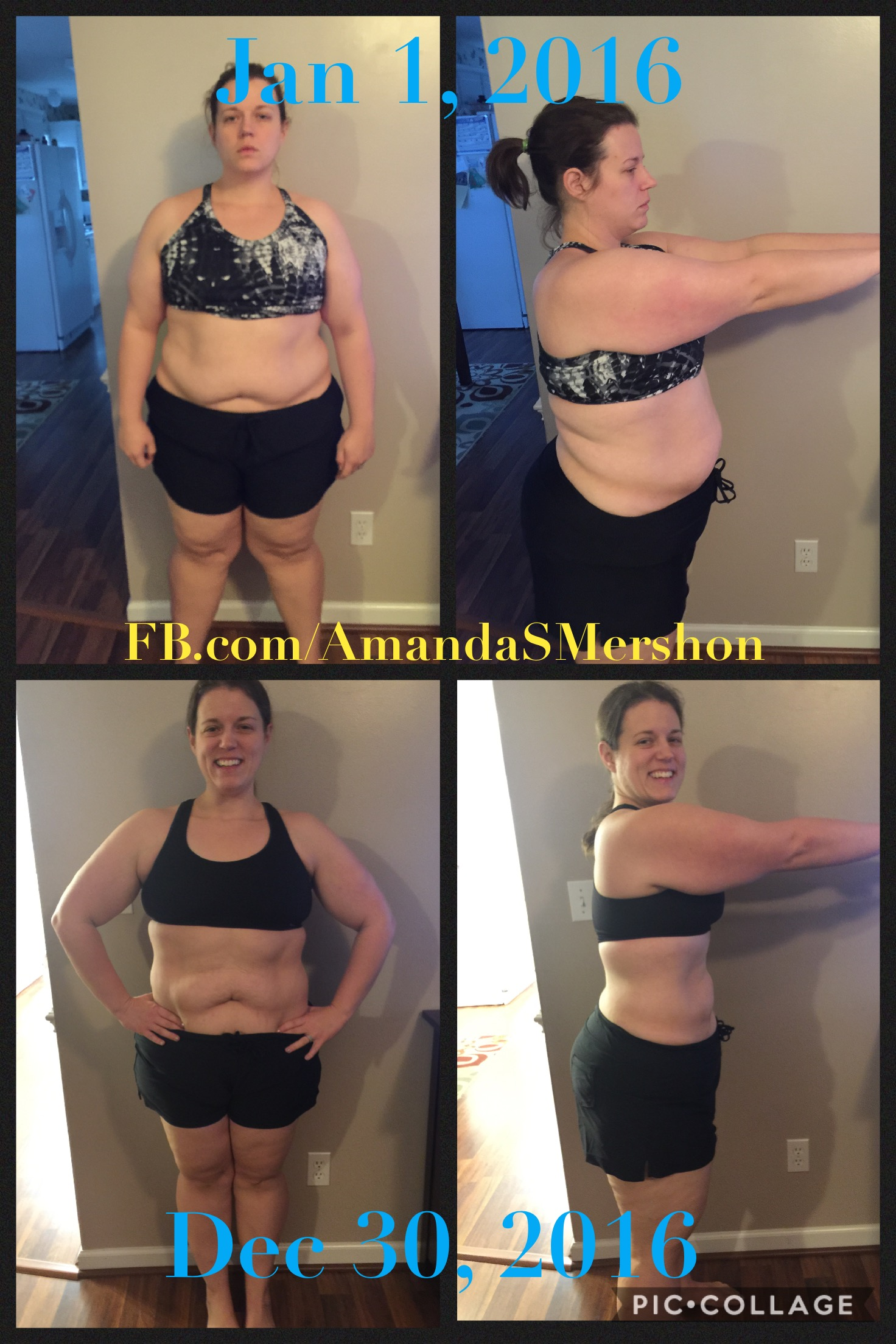 Great success story! Read before and after fitness transformation stories from women and men who hit weight loss goals and got THAT BODY with training and meal prep. Find inspiration, motivation, and workout tips | 56 Pounds Lost: Anxiety and Depression is GONE!