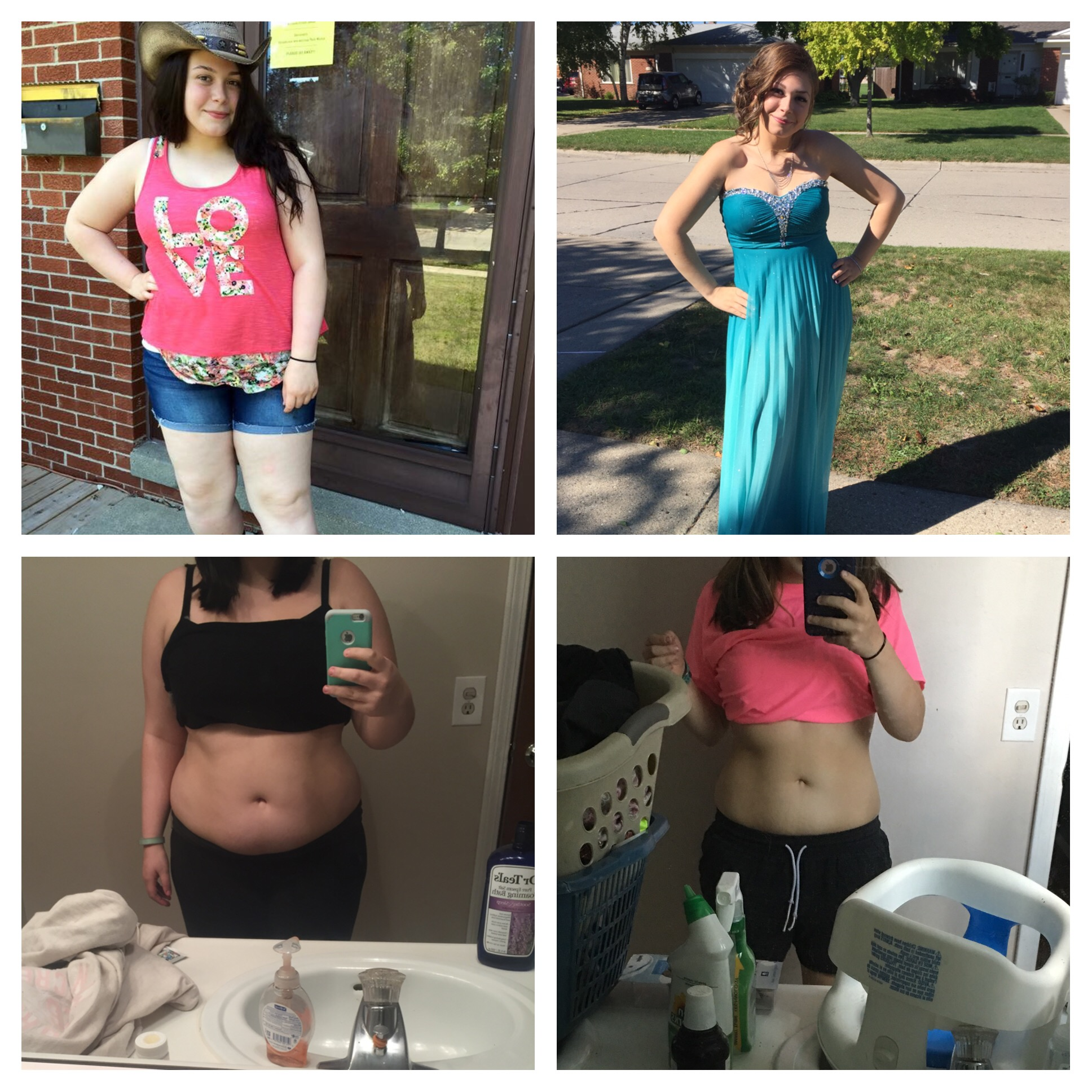 Great success story! Read before and after fitness transformation stories from women and men who hit weight loss goals and got THAT BODY with training and meal prep. Find inspiration, motivation, and workout tips | 60 Pounds Lost: Losing weight as a teenager in high school