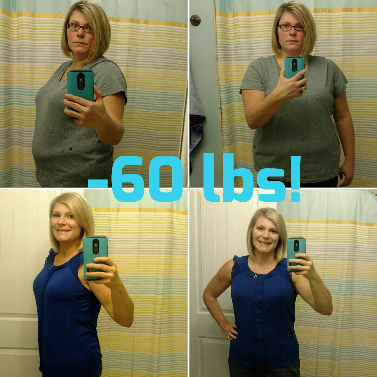Great success story! Read before and after fitness transformation stories from women and men who hit weight loss goals and got THAT BODY with training and meal prep. Find inspiration, motivation, and workout tips | 60 Pounds Lost: Whole30 and bootcamp changed my life