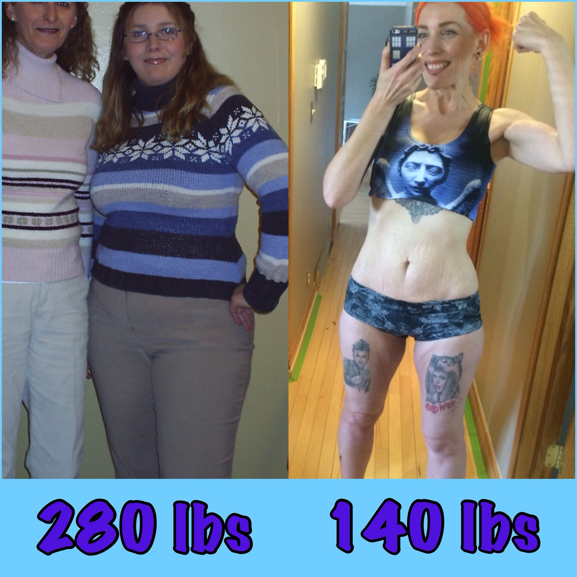 Great success story! Read before and after fitness transformation stories from women and men who hit weight loss goals and got THAT BODY with training and meal prep. Find inspiration, motivation, and workout tips | 140 Pounds Lost: Keepin it REAL!